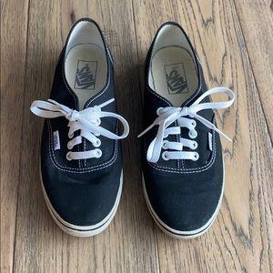 Authentic Black Van Shoes